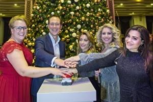 Decembermaand feestelijk ingeluid tijdens traditionele Christmas Tree Lighting in Grand Hotel Amrâth Kurhaus