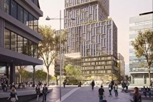 Spoorwegpensioenfonds en Stichting Pensioenfonds Openbaar Vervoer kopen 330 hoogwaardige nieuwbouwappartementen in Utrecht van Amrâth Hôtels